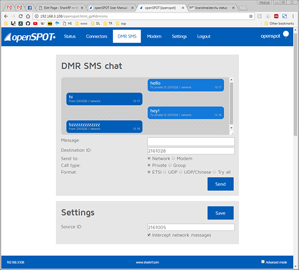 openSPOT User Manual – SharkRF